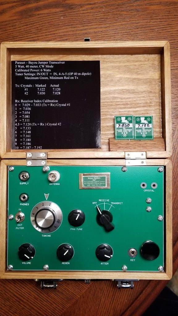 Bayou Jumper QRP Transceiver by W3JDH – W3GMS REPEATER